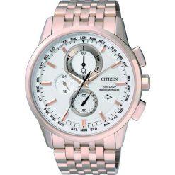 ZEGAREK CITIZEN Radio Controlled AT8113-55A. Białe zegarki męskie CITIZEN, ze stali. Za 2680,00 zł.