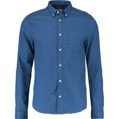 Koszule męskie na spinki: Burton Menswear London WAFFLE  Koszula blue