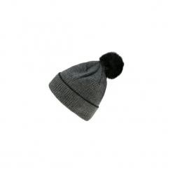 Czapka damska zimowa. Czarne czapki zimowe damskie TXM, na zimę. Za 14,99 zł.