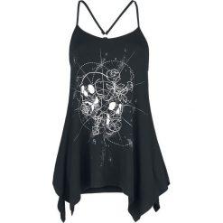 Odzież damska: Jawbreaker Rose Skull Shirt Top damski czarny