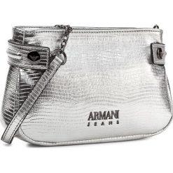Torebka ARMANI JEANS - 922298 7A814 00017 Argento. Czarne listonoszki damskie marki Armani Jeans, z jeansu. W wyprzedaży za 419,00 zł.