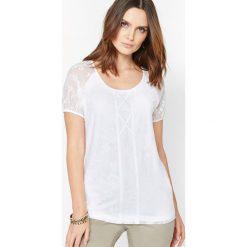 T-shirty damskie: T-shirt z lejącej dzianiny