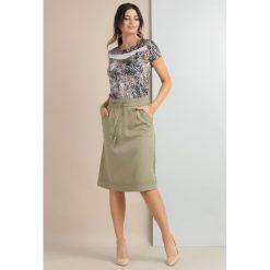 Spódniczki trapezowe: Spódnica w stylu boho