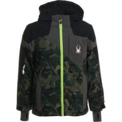 Spyder CHAMBERS Kurtka hardshell mini guard camo/black/polar. Brązowe kurtki chłopięce sportowe marki Spyder, z hardshellu, outdoorowe. W wyprzedaży za 743,20 zł.