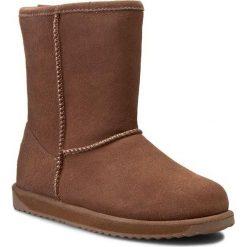 Buty EMU AUSTRALIA - Paterson Lo W10771 Oak 2015. Brązowe buty zimowe damskie EMU Australia, ze skóry, na niskim obcasie. W wyprzedaży za 469,00 zł.