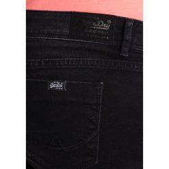 Bermudy damskie: Superdry Szorty jeansowe black