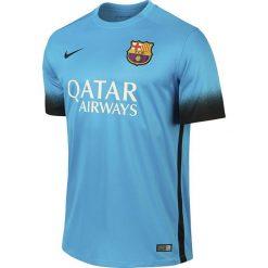 Nike Koszulka Nike FCB SS Decept Stadium JSY niebieska r. S (658789 426). Niebieskie t-shirty męskie Nike, m. Za 185,63 zł.