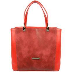 Grosso Bag Torebka Damska Czerwona. Czerwone torebki klasyczne damskie Grosso Bag. Za 195,00 zł.