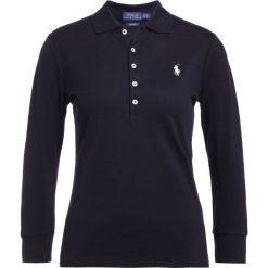 Topy sportowe damskie: Polo Ralph Lauren SLIM FIT Koszulka polo black