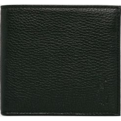 Polo Ralph Lauren - Portfel skórzany. Czarne portfele męskie marki Polo Ralph Lauren, z materiału. Za 299,90 zł.