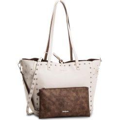Torebka DESIGUAL - 18SAXPAN 1001. Białe torebki klasyczne damskie marki Desigual, ze skóry ekologicznej. W wyprzedaży za 259,00 zł.