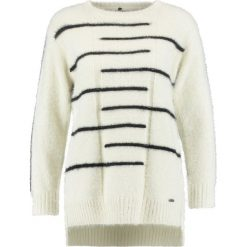 Swetry klasyczne damskie: Smash AZUCAR Sweter white