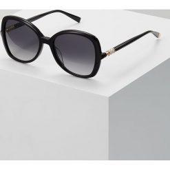 Max Mara RING Okulary przeciwsłoneczne black. Czarne okulary przeciwsłoneczne damskie aviatory Max Mara. Za 949,00 zł.
