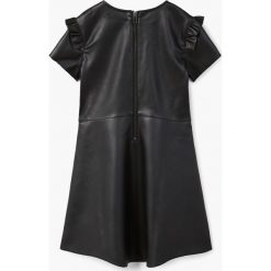 Sukienki dziewczęce: Mango Kids – Sukienka dziecięca 110-164 cm.
