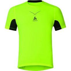 Odlo Koszulka tech. Odlo Ceramicool Shirt s/s crew neck rozmiar XL żółty. Żółte koszulki sportowe męskie Odlo, m. Za 139,95 zł.