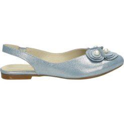 Sandały damskie: Sandały – 5081003 JEANS