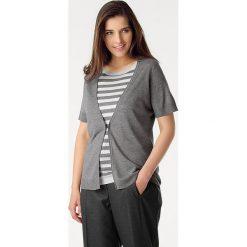 Odzież damska: Zestaw w kolorze szaro-białym