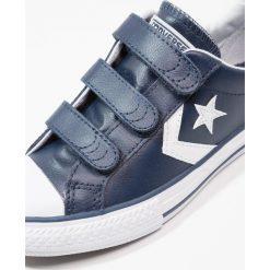 Converse STAR PLAYER JUNIOR Tenisówki i Trampki navy/white. Niebieskie trampki chłopięce marki Converse, z materiału. Za 209,00 zł.