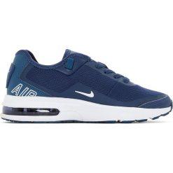 Buty sportowe Air Max. Szare buty sportowe chłopięce marki Nike, z syntetyku, nike air max. Za 411,56 zł.