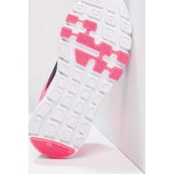 Reebok YOURFLEX TRAIN 9.0 Obuwie treningowe navy/acid pink/silver. Niebieskie buty skate męskie marki Reebok, z gumy, reebok yourflex. Za 149,00 zł.