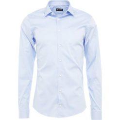 Tiger of Sweden FILBRODIE Koszula biznesowa light blue. Brązowe koszule męskie marki Tiger of Sweden, m, z wełny. Za 379,00 zł.