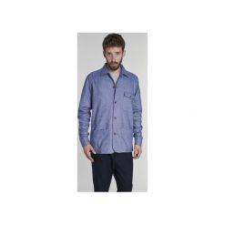 Koszula Flanelowa Niebieska. Niebieskie koszule męskie na spinki Delikatessen, xl. Za 760,00 zł.