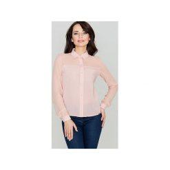 Koszula K229 Róż. Szare koszule damskie marki Lenitif, l. Za 99,00 zł.