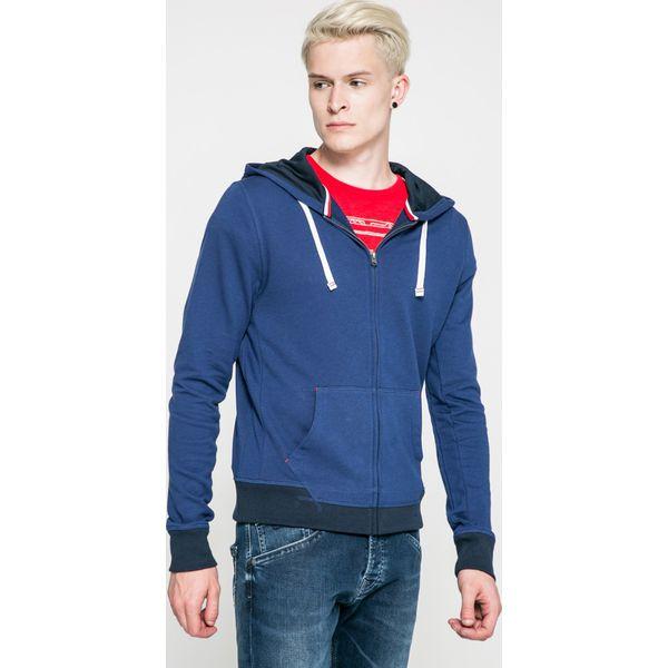 ac8071abbc11e Tommy Hilfiger - Bluza - Niebieskie bluzy męskie TOMMY HILFIGER, s ...