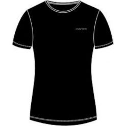 Bluzki damskie: MARTES Koszulka damska LADY SOLAN Black r. L
