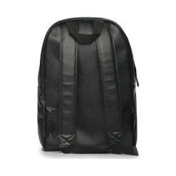 Czarny elegancki plecak miejski Solier ADVENTURE. Czarne plecaki męskie Solier, ze skóry ekologicznej. Za 189,00 zł.
