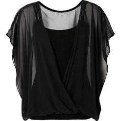 Bluzki asymetryczne: Bluzka shirtowa bonprix czarny