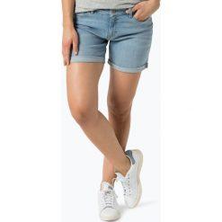 Bermudy damskie: BOSS Casual – Damskie spodenki jeansowe – Hershey, niebieski