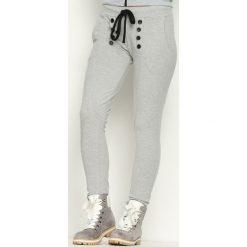 Spodnie dresowe damskie: Szare Spodnie Dresowe Another Way