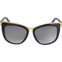 Okulary przeciwsłoneczne damskie: Czarne okulary przeciwsłoneczne