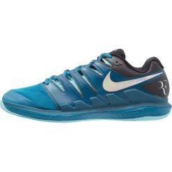 Nike Performance AIR ZOOM VAPOR X CLAY Obuwie do tenisa Outdoor green abyss/multicolor/bleach. Niebieskie buty do tenisa męskie Nike Performance, z gumy. W wyprzedaży za 471,20 zł.