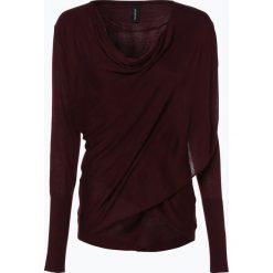 Soyaconcept® - Sweter damski, czerwony. Czarne swetry klasyczne damskie marki bonprix, w paski, z dekoltem woda. Za 139,95 zł.