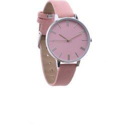 Różowy Zegarek Plain. Czerwone zegarki damskie Born2be. Za 24,99 zł.