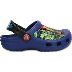 Crocs Buty Dziecięce Cc Marvel Avengers Iii Clogcer. Bl. 24-26. Szare sandały chłopięce marki Crocs, z paskami. W wyprzedaży za 95,00 zł.