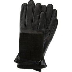 Rękawiczki damskie 39-6-521-1. Czarne rękawiczki damskie marki Wittchen, z polaru. Za 149,00 zł.
