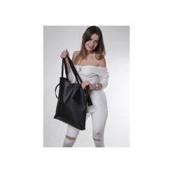 Torba black  ribbon. Czarne torebki klasyczne damskie drops, z bawełny, małe, pikowane. Za 145,00 zł.