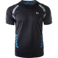 IQ Koszulka męska Matsay Black/Diva Blue r. XXL. Szare koszulki sportowe męskie marki IQ, l. Za 49,99 zł.