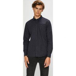 Blend - Koszula. Szare koszule męskie na spinki marki S.Oliver, l, z bawełny, z włoskim kołnierzykiem, z długim rękawem. Za 149,90 zł.