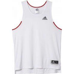 Adidas Koszulka męska Commander biała r. M. Czarne t-shirty męskie marki Adidas, do piłki nożnej. Za 93,26 zł.