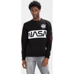 Bejsbolówki męskie: Alpha Industries NASA INLAY  Bluza black