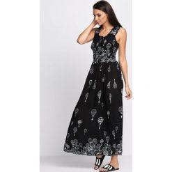Sukienki: Czarna Sukienka Big Kiss