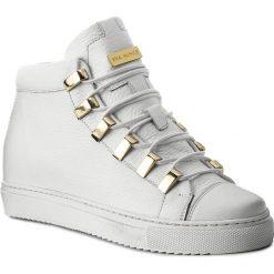 Sneakersy EVA MINGE - Dorita 2F 17BD1372195EF 102. Białe sneakersy damskie Eva Minge, z materiału. W wyprzedaży za 419,00 zł.