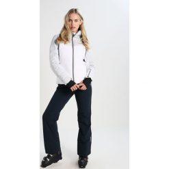 Colmar DONNA ALPINE Kurtka puchowa white/cloud/blue. Białe kurtki damskie softshell Colmar, z materiału. W wyprzedaży za 1427,15 zł.