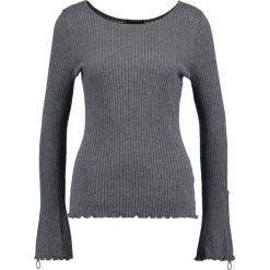 Swetry klasyczne damskie: Sisley Sweter grey