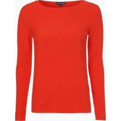 Franco Callegari - Sweter damski, czerwony. Zielone swetry klasyczne damskie marki Franco Callegari, z napisami. Za 79,95 zł.
