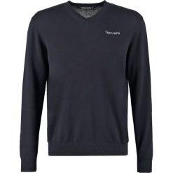 Swetry klasyczne męskie: Teddy Smith PULSER Sweter dark navy
